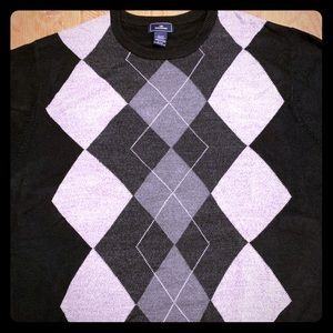 Argyle Men's Sweater Size XL